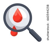 hematology concept with blood... | Shutterstock .eps vector #660544258
