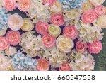 beautiful multicolored... | Shutterstock . vector #660547558