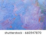 abstract oil paint texture on... | Shutterstock . vector #660547870