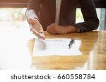 close up business man reaching... | Shutterstock . vector #660558784