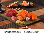 japanese food  | Shutterstock . vector #660580204