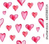watercolor seamless pattern... | Shutterstock . vector #660588514