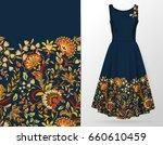 vertical seamless fashion... | Shutterstock . vector #660610459