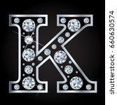 k vector letter made with... | Shutterstock .eps vector #660630574