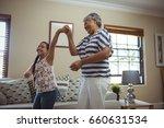 grandmother and granddaughter...   Shutterstock . vector #660631534