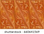 tile leather for a room decor ... | Shutterstock . vector #660641569