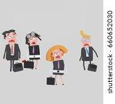 3d illustration. scared...   Shutterstock . vector #660652030