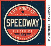vintage biker graphics and... | Shutterstock .eps vector #660659014