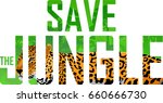 vector tropical rainforest... | Shutterstock .eps vector #660666730