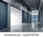 storage facilities with blue... | Shutterstock . vector #660670540