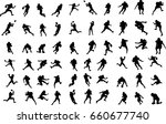 football player | Shutterstock .eps vector #660677740