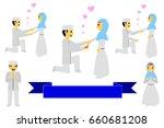 set bride couple muslim and...
