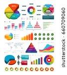 multicolored vector... | Shutterstock .eps vector #660709060