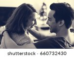 couple dating happiness... | Shutterstock . vector #660732430