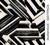 vector seamless pattern.... | Shutterstock .eps vector #660749626