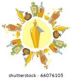aromatherapy | Shutterstock .eps vector #66076105