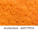 close up shot of tobiko  flying ... | Shutterstock . vector #660779914