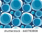 abstract natural form... | Shutterstock .eps vector #660783808