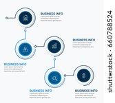 vector global infographics... | Shutterstock .eps vector #660788524
