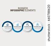 vector global infographics... | Shutterstock .eps vector #660788620