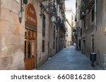 barcelona  spain   may 2017 ... | Shutterstock . vector #660816280