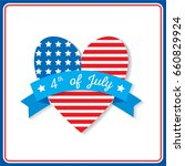happy independence day united... | Shutterstock .eps vector #660829924