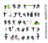 office life set corporate.... | Shutterstock .eps vector #660851779