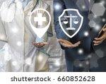 pharmacy compliance.... | Shutterstock . vector #660852628