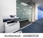 multi function printer machine... | Shutterstock . vector #660883528