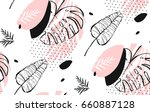 hand drawn vector of an... | Shutterstock .eps vector #660887128