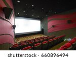 movie theater interior  with... | Shutterstock . vector #660896494