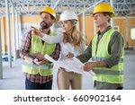 mature builders and contractor...   Shutterstock . vector #660902164