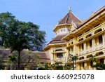 fragment of the architecture of ... | Shutterstock . vector #660925078