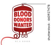 be a donor. creative motivate... | Shutterstock .eps vector #660927478