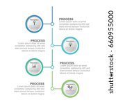 circle infographic template... | Shutterstock .eps vector #660955000