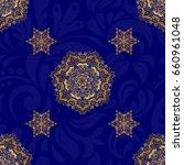 islamic vector design. seamless ...   Shutterstock .eps vector #660961048