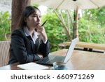 portrait of young business...   Shutterstock . vector #660971269