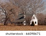 Abandoned Farmhouse - stock photo