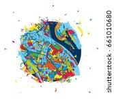 kyiv  ukraine  creative vector... | Shutterstock .eps vector #661010680