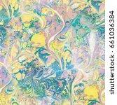 abstract seamless pattern.... | Shutterstock . vector #661036384
