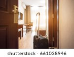 Stock photo view of hotel room 661038946
