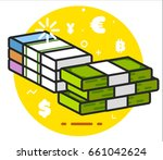 money icon | Shutterstock . vector #661042624