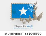 vector flag measurements with... | Shutterstock .eps vector #661045930