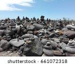 Artistic Stone Field In Puerto...