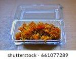 pineapple pineapple processing... | Shutterstock . vector #661077289