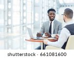 portrait of successful african... | Shutterstock . vector #661081600
