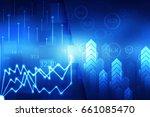 2d rendering stock market...   Shutterstock . vector #661085470