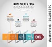 vector illustration of phone... | Shutterstock .eps vector #661088590
