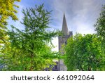 st. patrick's cathedral in... | Shutterstock . vector #661092064