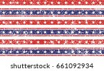 4th of july stars and stripes... | Shutterstock .eps vector #661092934